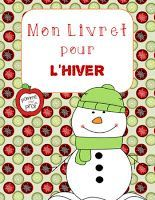 Mon livret pour l'hiver (My Book for Winter) - French Emergent Reader Kindergarten Activities, Activities For Kids, Grade 1 Reading, Literacy Games, French Classroom, Vocabulary Cards, Emergent Readers, Classroom Crafts, French Lessons