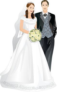 Резултат с изображение за жених и невеста клипарт