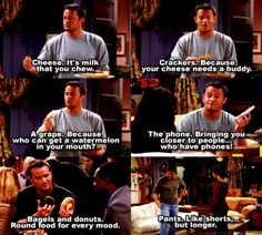 Chandler Bing – The Chaos Within