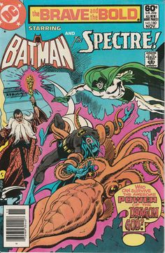 Brave & the Bold Vol. 27 No. 180  1981  Batman and the Spectre by TheSamAntics