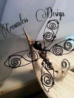 *Blackdragonfly* my new wire work  made with <3 love