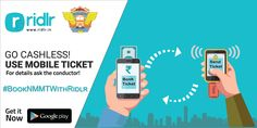 Good news for all you Navi – Mumbaikars! No more jheek jheek, Go Cashless! Now you can book your NMMT bus (AC-123 & AC-125) tickets with a few simple steps on Ridlr. #BookNMMTWithRidlr