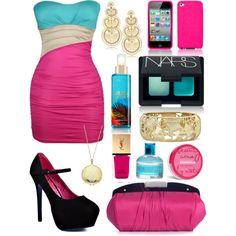Cotton Candy Formal, created by jemevangelista on Polyvore