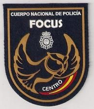 SPAIN CNP Cuerpo Nacional Policia National Motorcycles Unit Police Patch VELCRO