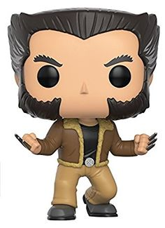 Funko POP Marvel: X-Men-Logan Action Figure. From , X-Men - Logan, as a stylized POP vinyl from Funko. Stylized collectable stands 3 ¾ inches tall, perfect for any X-Men fan. Collect and display all X-Men POP Vinyls. Funko Pop Marvel, Funko Pop Figures, Vinyl Figures, Action Figures, Funko Pop Dolls, Funko Toys, X Men, Logan Wolverine, Logan Xmen