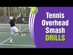Tennis Overhead Smash Drills And Net Play Lesson