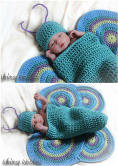 Crochet Baby Cocoons All The Best Ideas