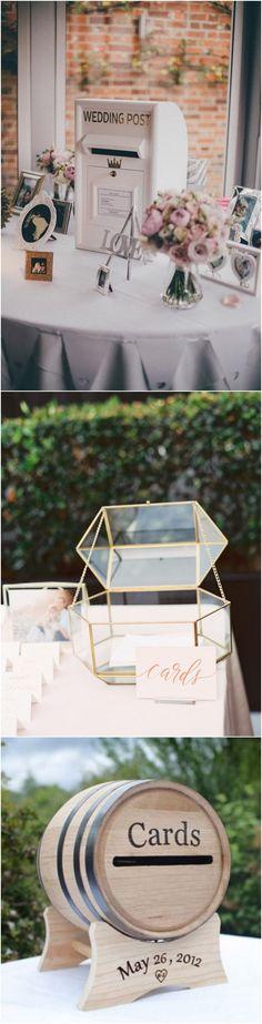 vintage wedding card box ideas