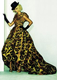 Carmen Kass by Peter Lindbergh for Harper's Bazaar