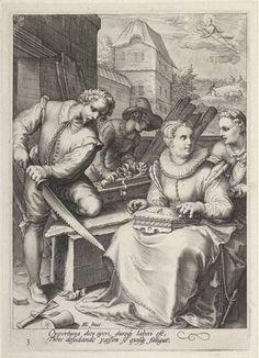 Jan Saenredam - Midday - c. 1585 - 1607