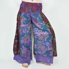 Rambling Rose Layered Pants