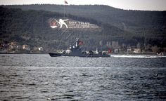 Turkish patrol boat TCG Atak. Like in previous years, on 18th March 2016, Turkish Navy organised a Naval Parade in Çanakkale Strait to commemorate Turkish Victory over the Allied Armada 101 years ago. 6 Navy and Coast Guard helicopters, 3 maritime patrol planes and 6 Army helicopters took part in a fly over. And Turkish Stars, aerobatics demonstration team of Turkish Air Force made a display.