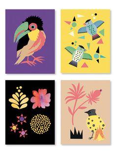 Tropical Postcard Set