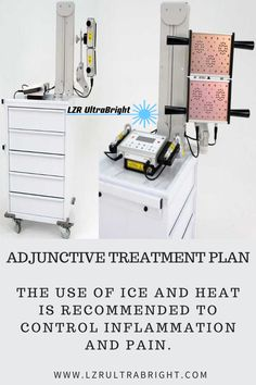 The use of ice and heat is recommended to control inflammation and pain. Additional techniques include cervical stretching exercises, massage, ultrasound therapy, and cranial and cervical spine mobilization. Some patients find benefit from meditation, stress management, and biofeedback techniques. $200 off any UltraBright! To get this special price and save $200 you must enter coupon code: GLOW   #lzrultrabright #beautyinbloom #cancertherapy #led #ultrabright Led Therapy, Light Therapy, Face Light, Face Treatment, Stretching Exercises, Ultrasound, Stress Management, Locker Storage, Benefit