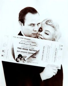 "DESA Unicum auction house, ""Milton H. Greene photography auction"" 8.11.2012, 7 pm; Marilyn Monroe and Marlon Brando, lot. 88"