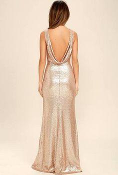 champagne gold bridesmaid dresses