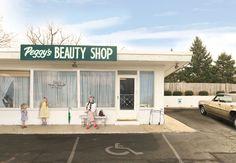 Julie Blackmon, Peggy's Beauty Shop, 2015