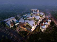 Gleneagles Medini hospital in Johor by  STH Health Architecture