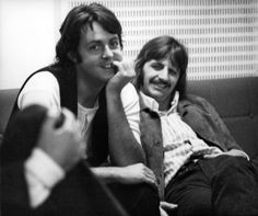 Paul and Ringo, Abbey Road Sessions, 1968