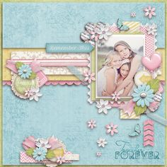 kit: Spring Mist by Cindy Ritter page by Atusia