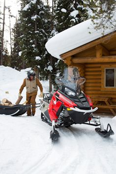 Did you know the average age of a snowmobile rider is Polaris Snowmobile, Age, Vehicles, Outdoor, Outdoors, Car, Outdoor Games, The Great Outdoors, Vehicle