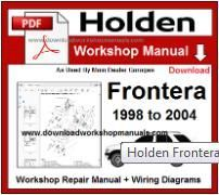 Holden Repair Workshop Manual Engines 3 2l V6 6vd1 Petrol 2 2l X22se Petrol Transmissions Automatic Manual Dow Repair Manuals Workshop Manual
