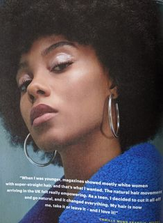 Glamour Magazine, Going Natural, White Women, Straight Hairstyles, About Uk, Things I Want, Thats Not My, Natural Hair Styles, Teen