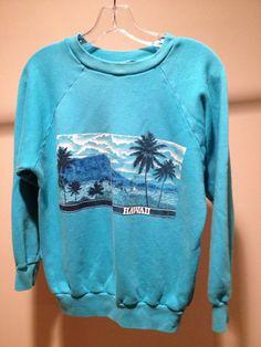 Vintage Hawaii Island Sweatshirt by 21Vintage on Etsy, $34.50
