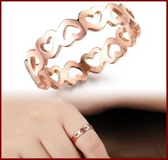Stylish Heart Rings Jewelry For Girls Read More:http://www.stylishcraze.com/stylish-heart-rings-jewelry-for-girls.html  #HeartRing #Jewelry #Rings