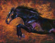 Horse Art Print by Janet Ferraro at http://janetferraro.com/store/giclee-prints…