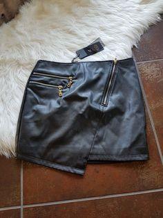 😍mini jupe en cuir !! T36 - Tres belle mini jupe en cuir noire 90dd58a836c