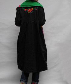 Cotton With lining Knee Length doll coat by MaLieb on Etsy, $96.00