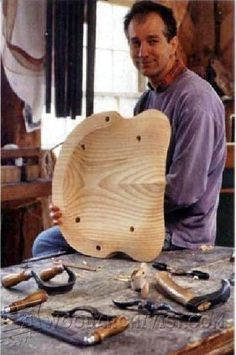 Carve a Softwood Seat - Woodworking, Woodworking Tips, Woodworking Techniques…