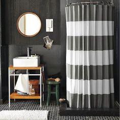 Shower curtain for boys bath?