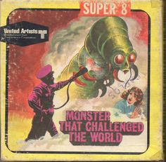 The Monster That Challenged the World / Super Cool Monsters, Horror Monsters, Classic Comedies, Classic Horror Movies, Movies Box, Sci Fi Movies, Fantasy Movies, Fantasy Art, Super 8 Film