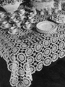Shining Hour Tablecloth Pattern #7190