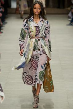 Burberry Prorsum | Fall 2014 Ready-to-Wear Collection | Style.com/ Bold Print