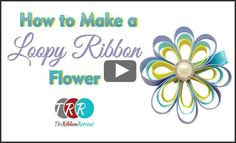 Loopy Ribbon Flower, YouTube Thursday