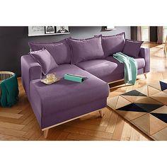 Home affaire Ecksofa »Edina«, im skandinavischem Stil Sofas, Couch, Furniture, Home Decor, Rural House, Calculus, Couches, Decoration Home, Room Decor