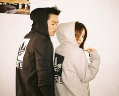 T-ara's Hyomin and 2AM's Seulong are a stylish couple for adidas | allkpop.com