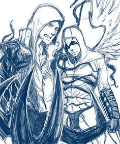 [AC/P] Altaïr and Alex by Kyu3118 on DeviantArt