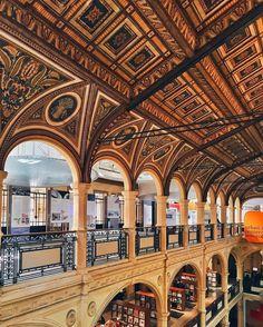 Il Paradiso ha la forma di un libro. La biblioteca #Salaborsa è forse uno dei più bei paesaggi di #Bologna. Ne conserva intatta la…