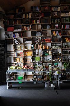 Livraria do Mercado Biológico . Óbidos