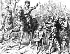 With the outbreak of the German Peasants' War,1525, Götz von Berlichingen led the rebels in the district of Odenwald against the Ecclesiastical Princes of the Holy Roman Empire. Despite his wishes to stop wanton violence, Berlichingen found himself powerless to control the rebels and after a month of nominal leadership he deserted his command and returned to the Schloss Jagsthausen to sit out the rest of the rebellion. Feudal System, Imperial Knight, Early Modern Period, Holy Roman Empire, Georgian Era, German Fashion, Armies, Dark Ages, Renaissance