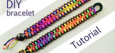 How to Make a Easy Macrame Criss-Cross Bracelet with Beads. It's simple to make and looks really cool and fun :) Even people who just found out about macrame can make this bracelet! Video: .