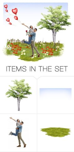 """Spring Love ...."" by riagr ❤ liked on Polyvore featuring art"
