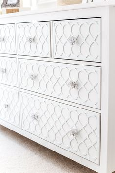 Applique IKEA Dresser Hack - Bless'er House