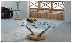 Tokyo Coffee and Lamp Table Oak Wood 2013 Range