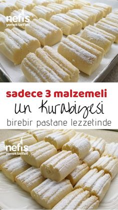 Un Kurabiyesi kurabiye unkurabiyesi nefisyemektarifleri nefis is part of Pasta cake - Yummy Recipes, Cookie Recipes, Dessert Recipes, Yummy Food, Tasty, No Flour Cookies, Cookies Et Biscuits, Dessert Simple, Cupcakes