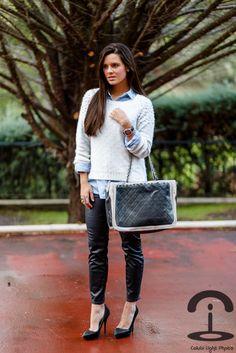 DIY Pearl Jumper - Crimenes de la Moda